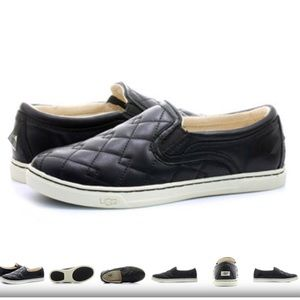 UGG 'Fierce Deco' Quilted Slip-On Sneaker